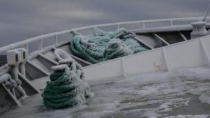 Las cuerdas de un barco