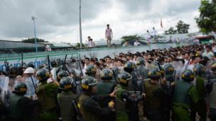 Hình ảnh chụp ngày 7/11 tại Trung tâm Cai nghiện Đồng Nai (xã Xuân Phú, huyện Xuân Lộc, tỉnh Đồng Nai).