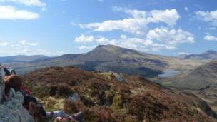 The Snowdonia Mountain ranges