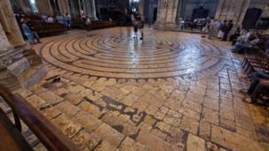 Mê lộ Labyrinth, Thánh Đường Chartres