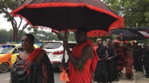 Waombolezaji Ghana watoa heshima kwa kofi Annan