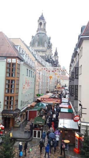 Дрездендин туристтик көчөлөрүнүн бири
