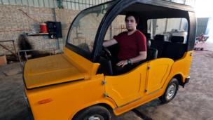 سيارة مصرية الصنع