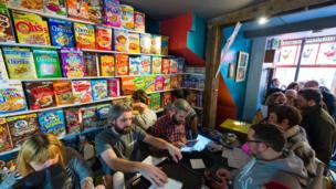 Cereal cafes! Someone had the genius idea of turning our favourite morning food and turning it into a whole cafe. This one in London offers over 100 varieties of cereal from all around the world, including America, South Africa, France, Australia, South Korea and the UK! Pass me the milk...