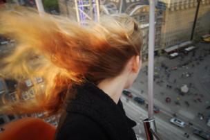 """لعبة أرجوحة مرتفعة في ميدان """"دام"""" بهولندا"""