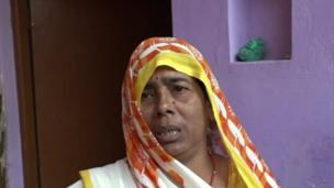 Pushpa Devi, kakar jaririn, ta shaida wa BBC cewa mutane na rayuwa a cikin jin tsoro