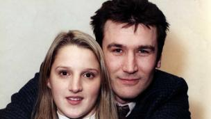 Hywel a Stacey