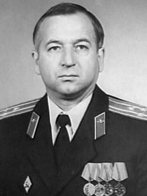 Undated image taken from the internet of Sergei Skripal in uniform.