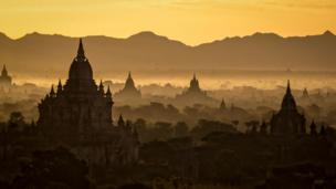 Temples in the mist by Dean Patrick/Photocrowd.com