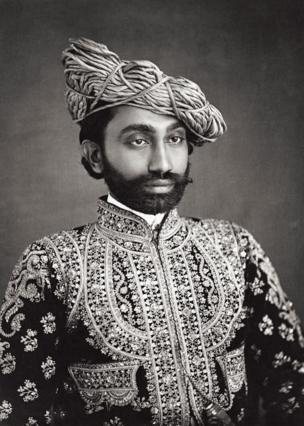 A portrait of H.H The Raja Sahib of Liniri