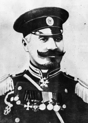 Əli Ağa Şıxlınski -artilleriyanın general leytinantı, 1917