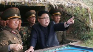 كيم جونغ-أون، كوريا الشمالية