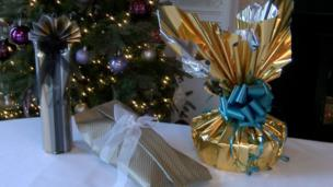 Presents wrapped by Neelam Meetcha