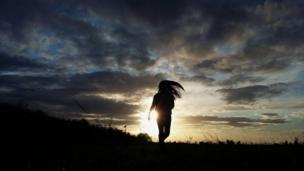 """Foto de un lector de BBC Mundo por el tema """"Siluetas"""""""