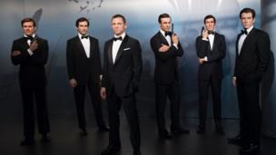 Tượng các diễn viên đóng James Bond
