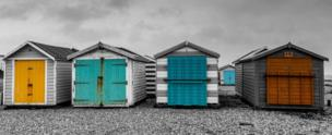 in_pictures Beach huts