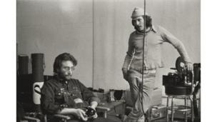 Danny Lyon (1942), John Lennon y Danny Seymour, The Bowery, New York, 1969