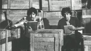 अमिताभ बच्चन के साथ शशि कपूर