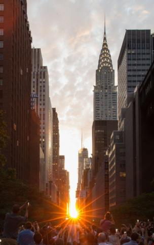 New York, Manhattanhenge