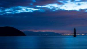 Penmon on Anglesey at dawn