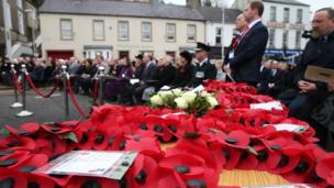 Memorial in Enniskillen