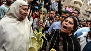 مسلمون ومسيحيون ينددون بالحادث