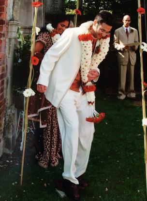 Sharmini's wedding day