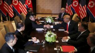 این دیدار، بیسابقه است. دستور مذاکرات، خلع سلاح هستهای شبهجزیره کره است. اما ظاهرا دو طرف درباره جزئیات این هدف، اتفاقنظر ندارند.