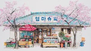 Sudut-sudut toko khas Korea yang digerus zaman