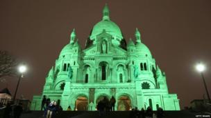 The Sacre Coeur, Paris
