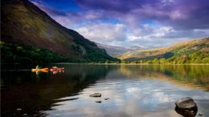 Llyn Gwynant in Snowdonia