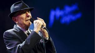 Leonard Cohen in 2013