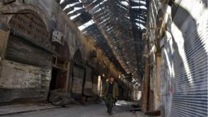 المدينة القديمة في حلب.
