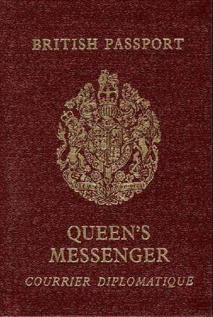 Паспорт королевского посланника