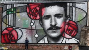 Rennie Mackintosh mural