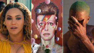 Beyonce, Dizzy Bowie n' Frank Ocean
