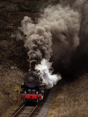 in_pictures Steam train