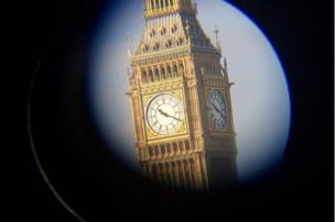 Big Ben, in Westminster