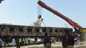 پنجاب ٹرین حادثہ