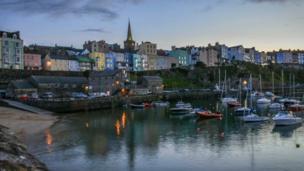 Tenby harbour, as taken by Mandy Llewellyn