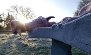 Dragon at Presteigne, Powys