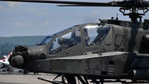 اپاچی ہیلی کاپٹر