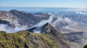 The summit of Snowdon taken by Mandy Llewellyn