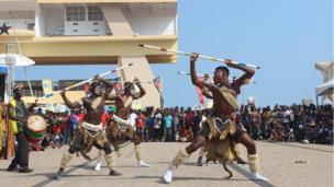 Dancers in Ghana