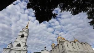弗拉基米尔一度是俄罗斯的首都