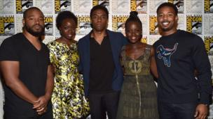 Cast of Black Panther