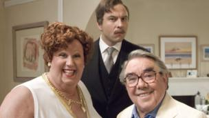 After the loss of Barker, who he called B, Corbett continued to work. He appeared in comedy shows including Little Britain with Matt Lucas (left) and David Walliams (centre), Extras, and many comedy panel shows.