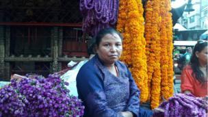 एक फूल व्यापारी