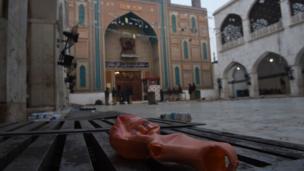 سیہون شریف میں دھماکہ