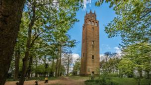 Faringdon Folly, on Folly Hill